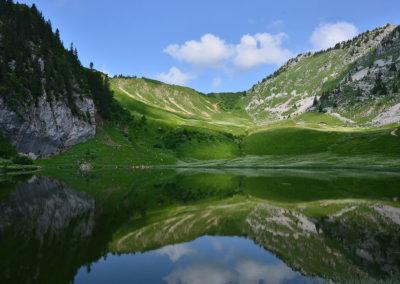 Géotope Chablaisien : le Lac d'Arvouin