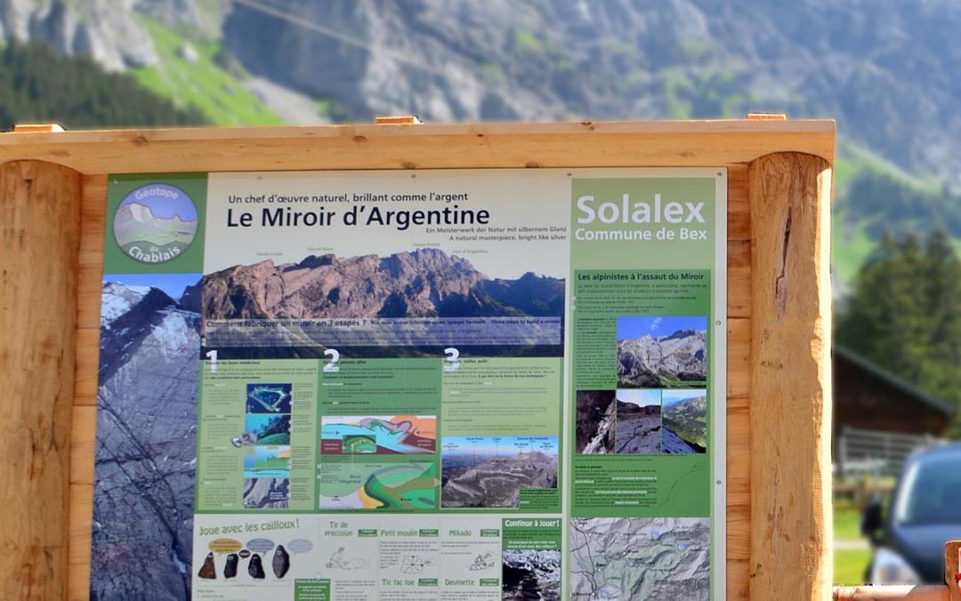 Géotopes du Chablais: 5 sites équipés
