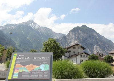 Espace d'interprétation dédié à l'Illgraben