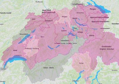 Inventaires cantonaux de géotopes