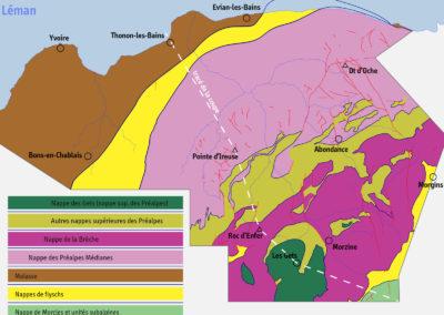 Schéma tectonique.
