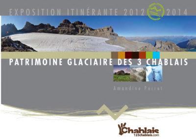 """Catalogue de l'exposition """"patrimoine glaciaire des Chablais"""""""