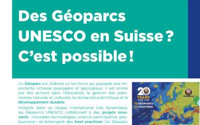 Géoparcs UNESCO en Suisse