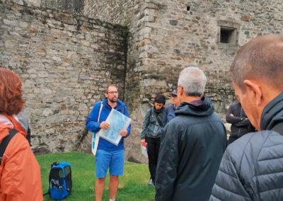 Excursion au Castelgrande, guidée par Cristian Scapozza (SUPSI)