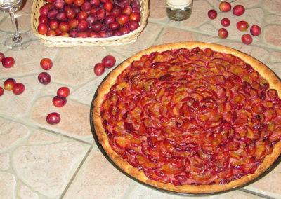 Avec des damassons rouge, on fait aussi des tartes.