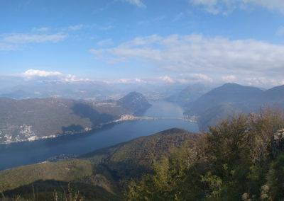 Vue sur le Lac de Lugano