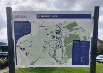 Un nouveau plan de village pour Boncourt